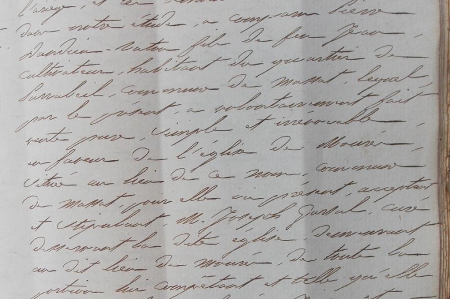 vente terre pour église 13-12-1848.PNG