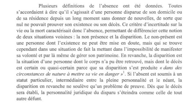 extrait de l'absence dance dans la jurisprudence p1.PNG