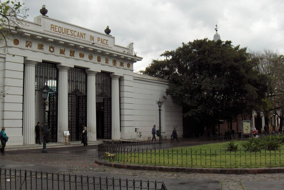 Cimenterio de Recoleta
