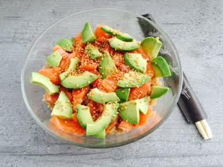 Chirashi Saumon Et Avocat Lal S Cucina