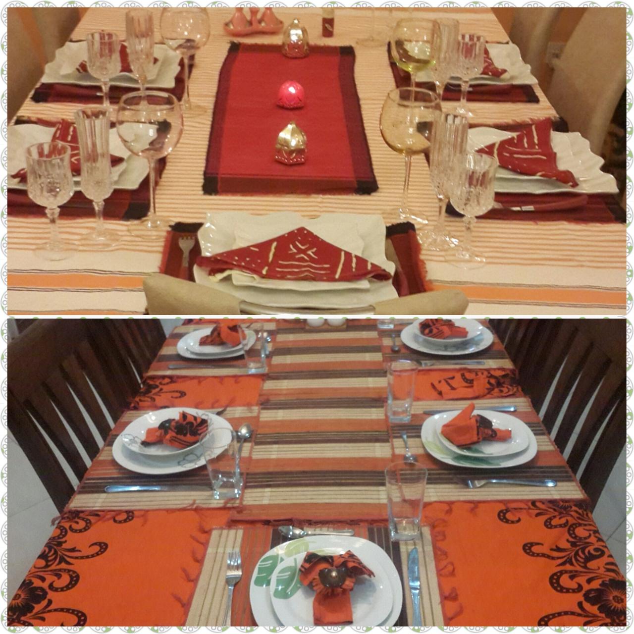 La table est dress e des id es pour ce 31 d cembre timworld les aventures multiculturelles d - Fourchette a droite ou a gauche ...