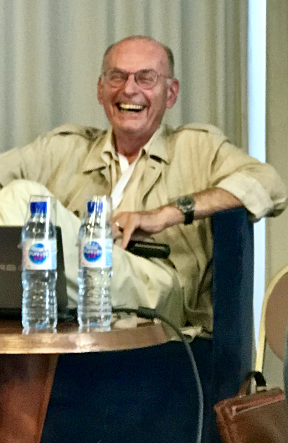 Boris Cyrulnik joyeux