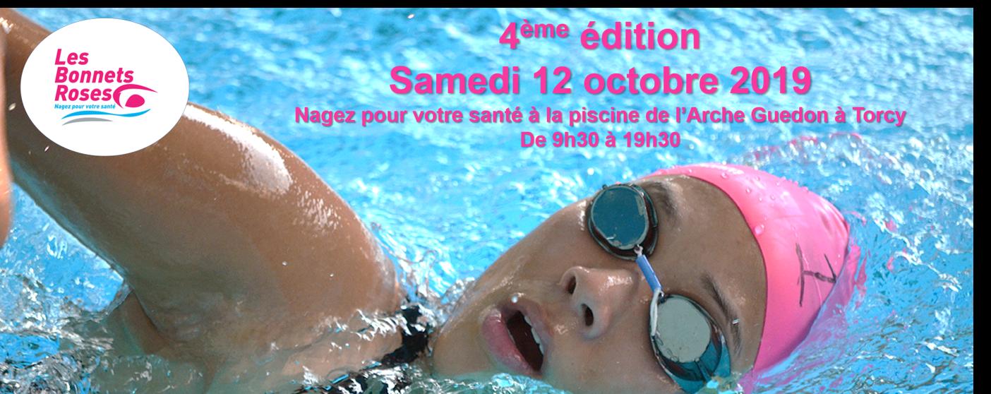 Les Bonnets roses : nagez pour votre santé