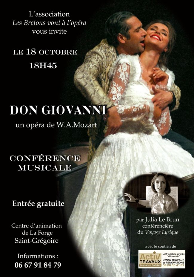 Conférence Don Giovanni