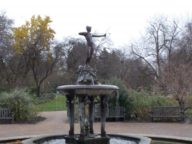 Hyde Park (Londres, Noël 2015)