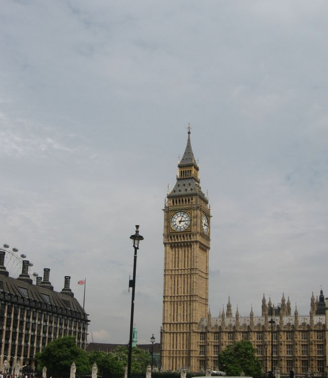 Big Ben (Londres, juillet 2013)