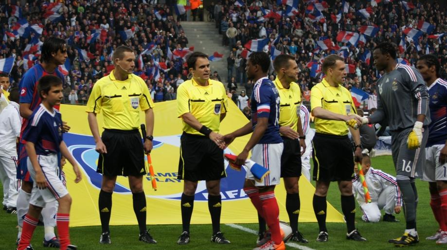 match amical préparation WORLD CUP 2010 france costa rica à lens 265.jpg