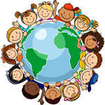 the-world-s-children-in-a-circle-in-the-world-single-level-without-the-effects-of-transparency-eps-8_134057828.jpg