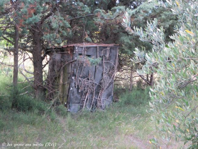 Vieux poste abandonné (Caumont, Tir à l'arc)