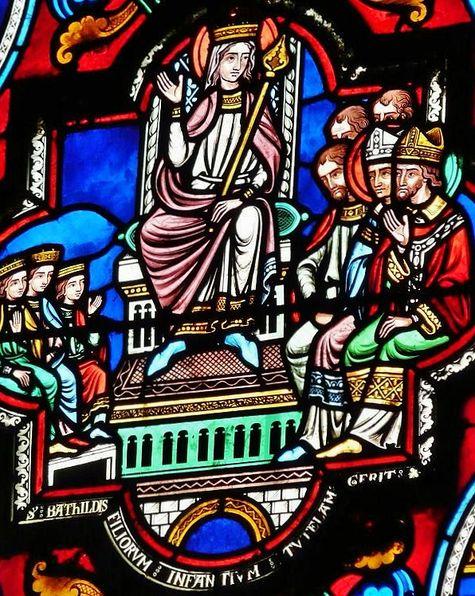 Vitrail église Ste Radegonde Poitiers - Copie.JPG