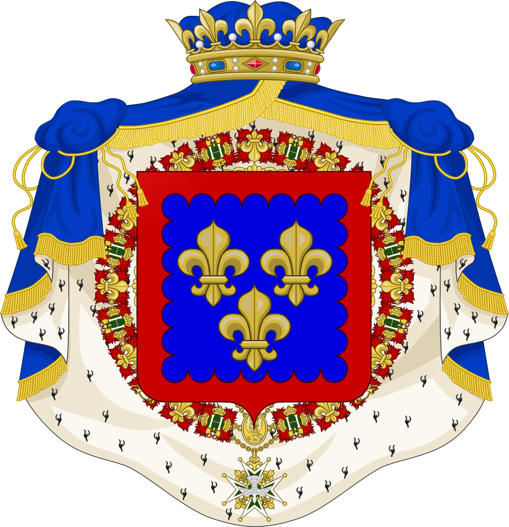 Armoiries du Duc de Berry Fils de France (moderne).png