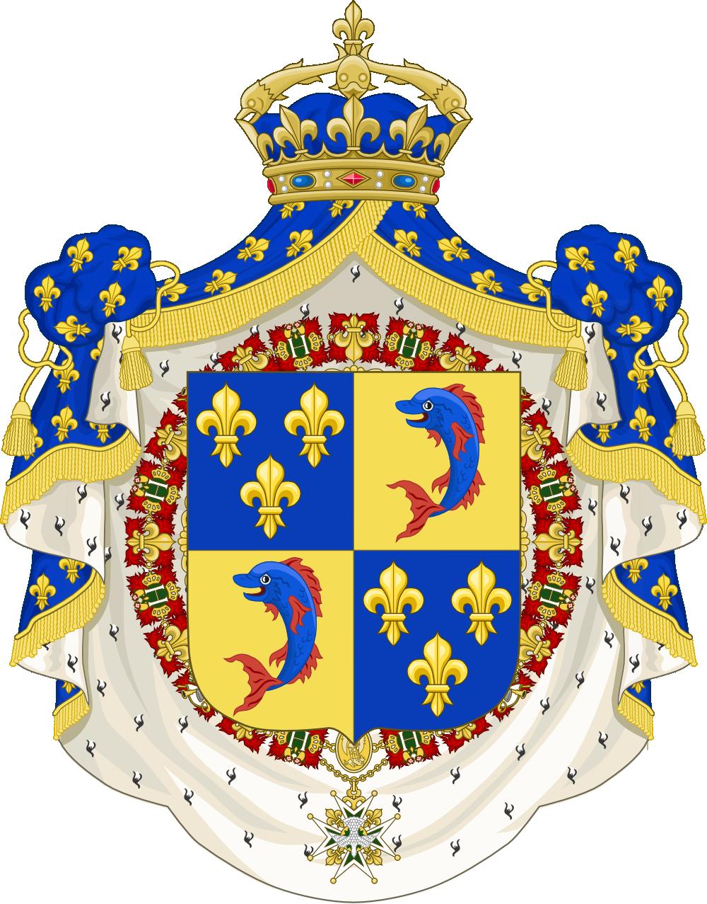 Armoiries du Dauphin de France (moderne) (2).png