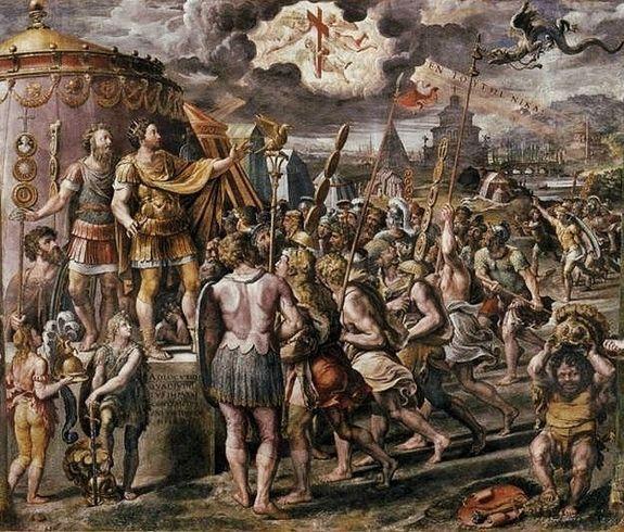 Raphaël la vision de Constantin - Vatican.jpg