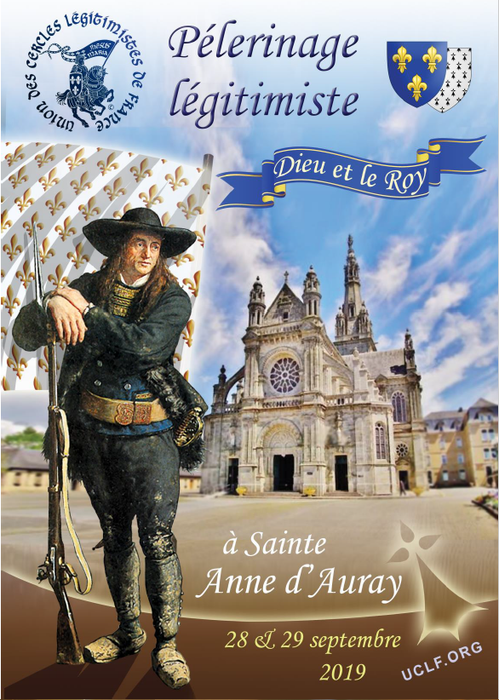 affiche pèlerinage légitimiste Sainte-Anne d'Auray 2019.png