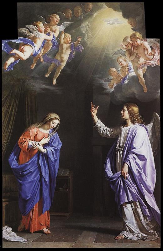 Philippe de Champaigne - Annonciation de 1645.jpg
