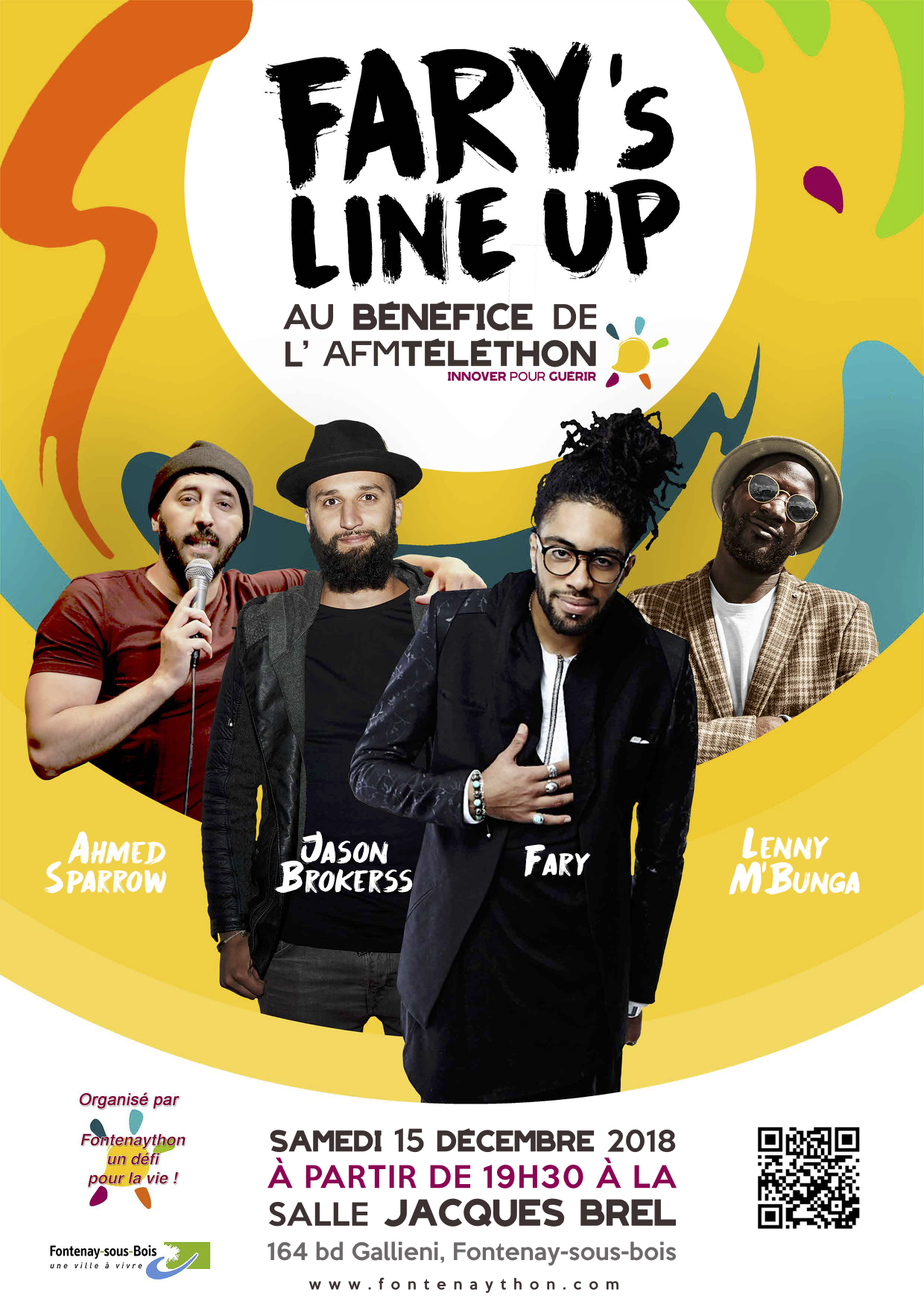 Grand spectacle 2018 du Fontenaython - Fary's line up