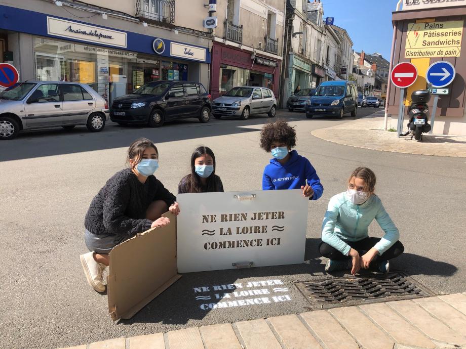 Louane, Arwenn, Sofiane et Zoé- place Jeanne d\\\'Arc