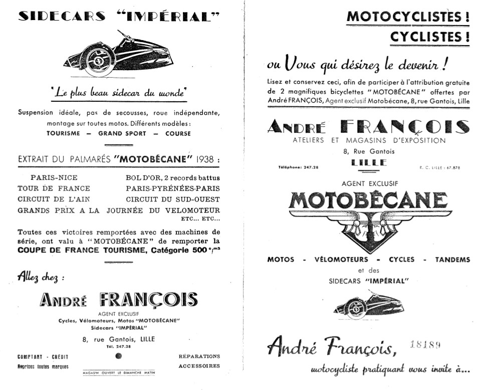 Flyer RV des Ets François probablement de 1939.jpg