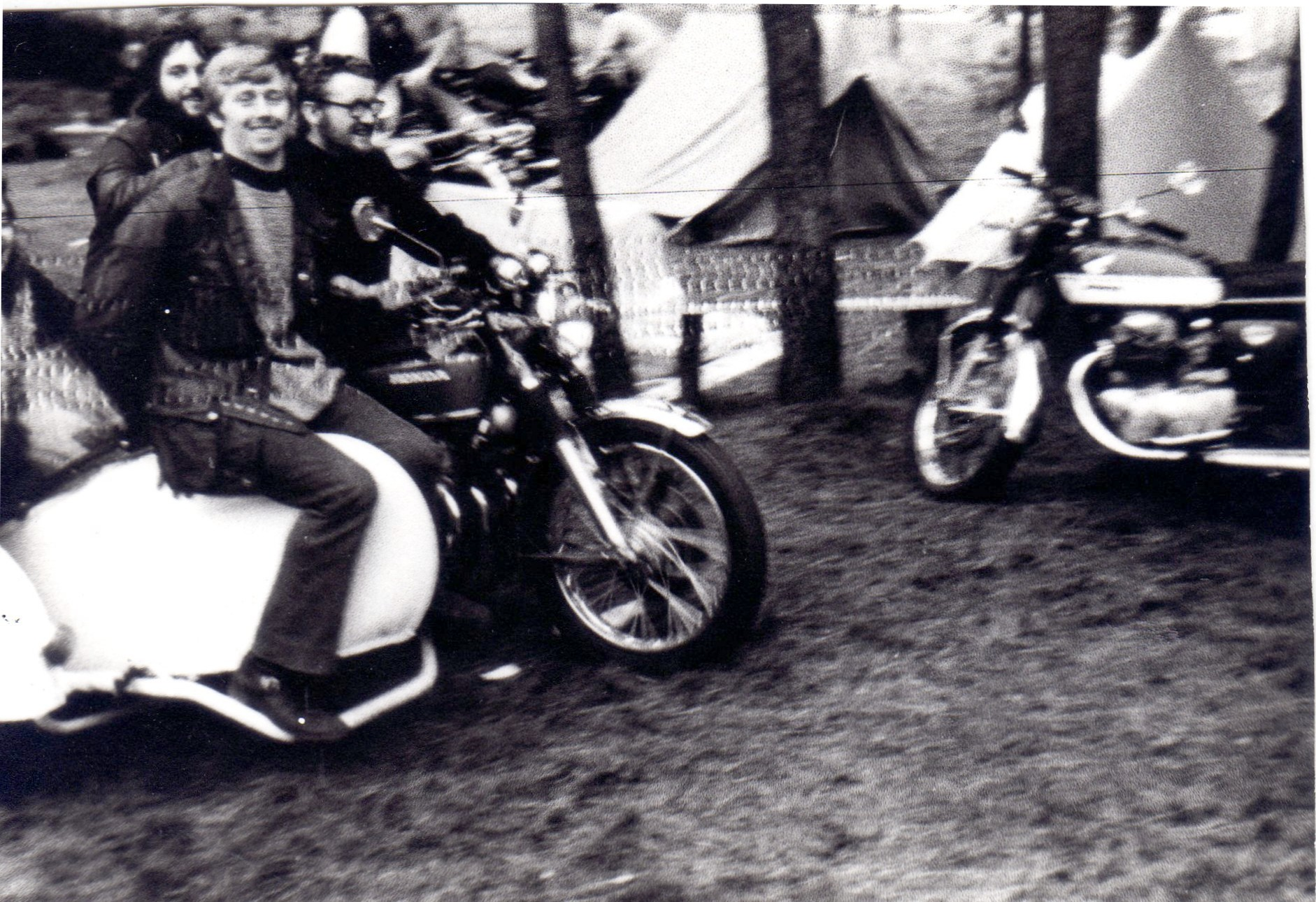 1971 Lions Rally Zolder Honda CB750 side car pepette MC Liberty 01.jpg