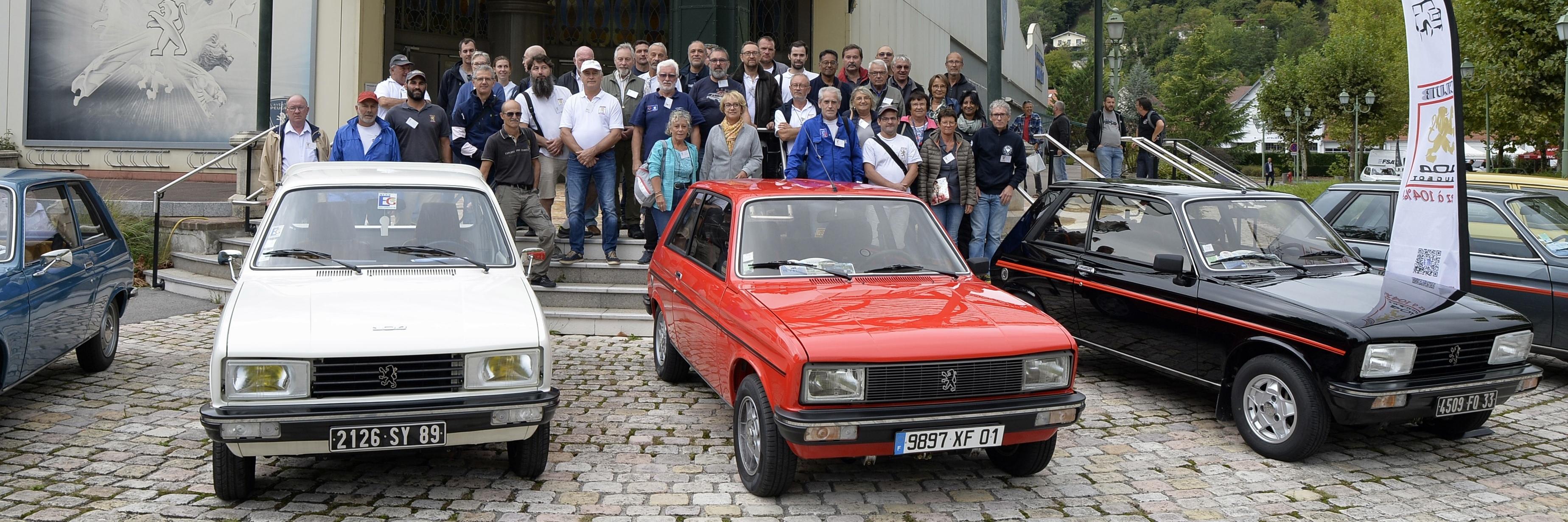 Club 104 Peugeot : Vivez à 104%