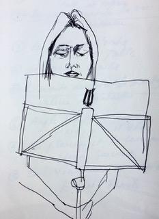 dessin Nathalie Prats stage 2018