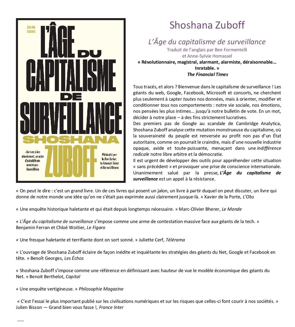 Shoshana Zuboff