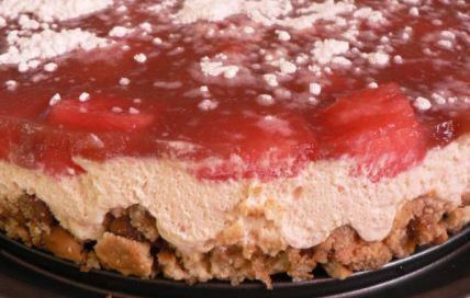 tarte fromage blanc et fraise 001.JPG