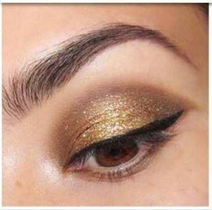 yeux marrons - paupières dorées 003.JPG
