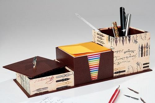 Les Boîtes de Chloé Le Set de Bureau.JPG