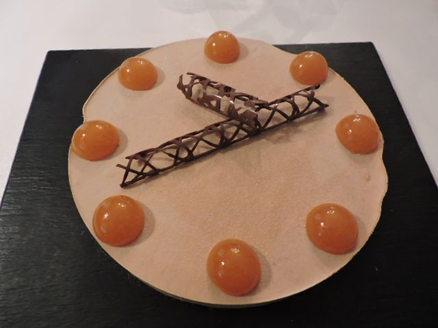 Entremets crousti-passion-chocolat