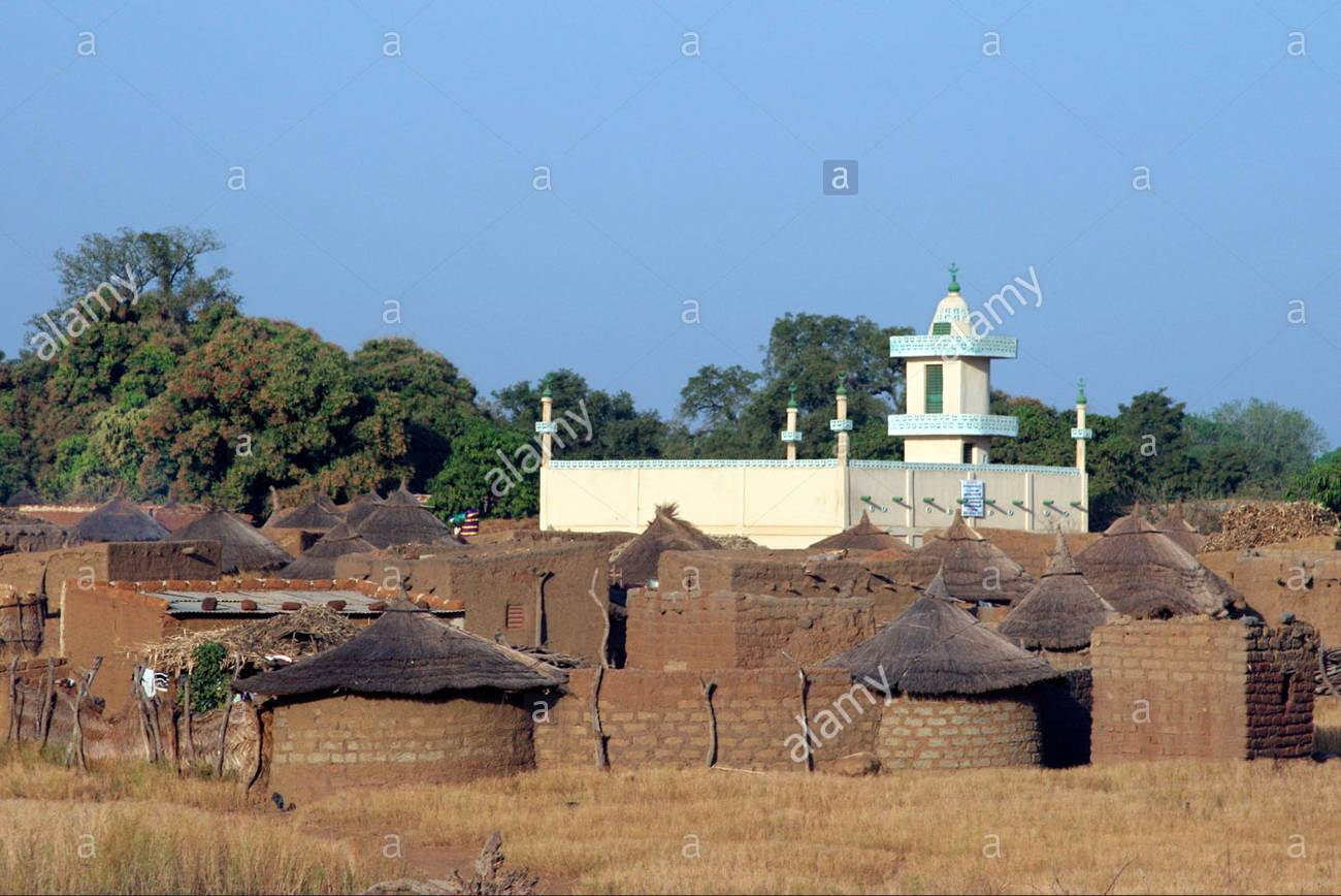 stone-huts-with-thatched-roofs-and-mosque-in-village-at-burkina-faso-BEP7X7.jpg