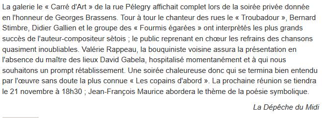 carre d'art Brassens depeche 24-10-09 texte.PNG
