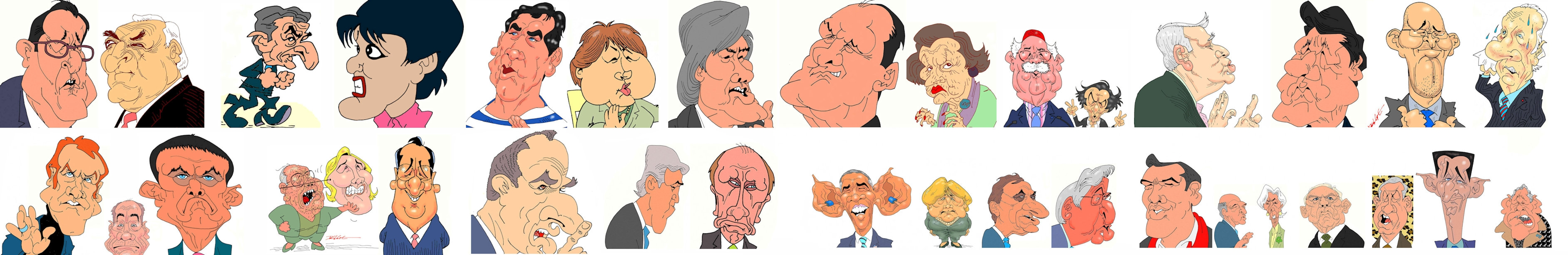 Delge : dessins de presse-caricatures