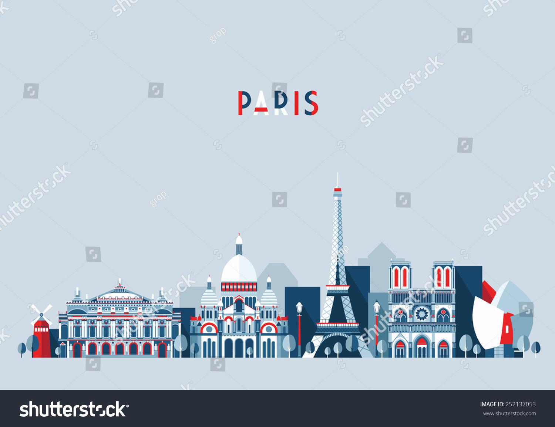 stock-vector-paris-france-city-skyline-vector-background-flat-trendy-illustration-252137053.jpg