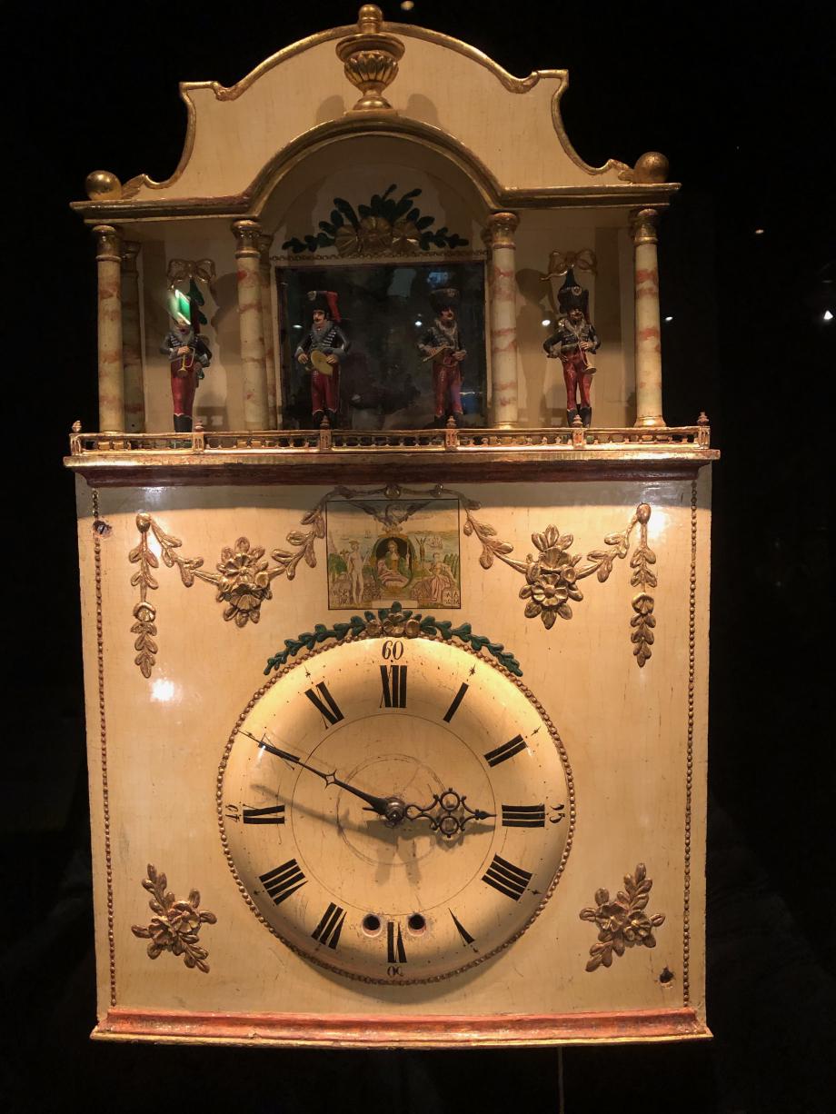 Horloge de la Forêt Noire à orgue et automates vers 1775