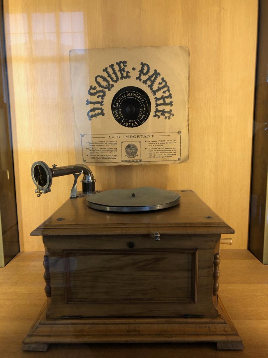 Phonographe Pathé 1910
