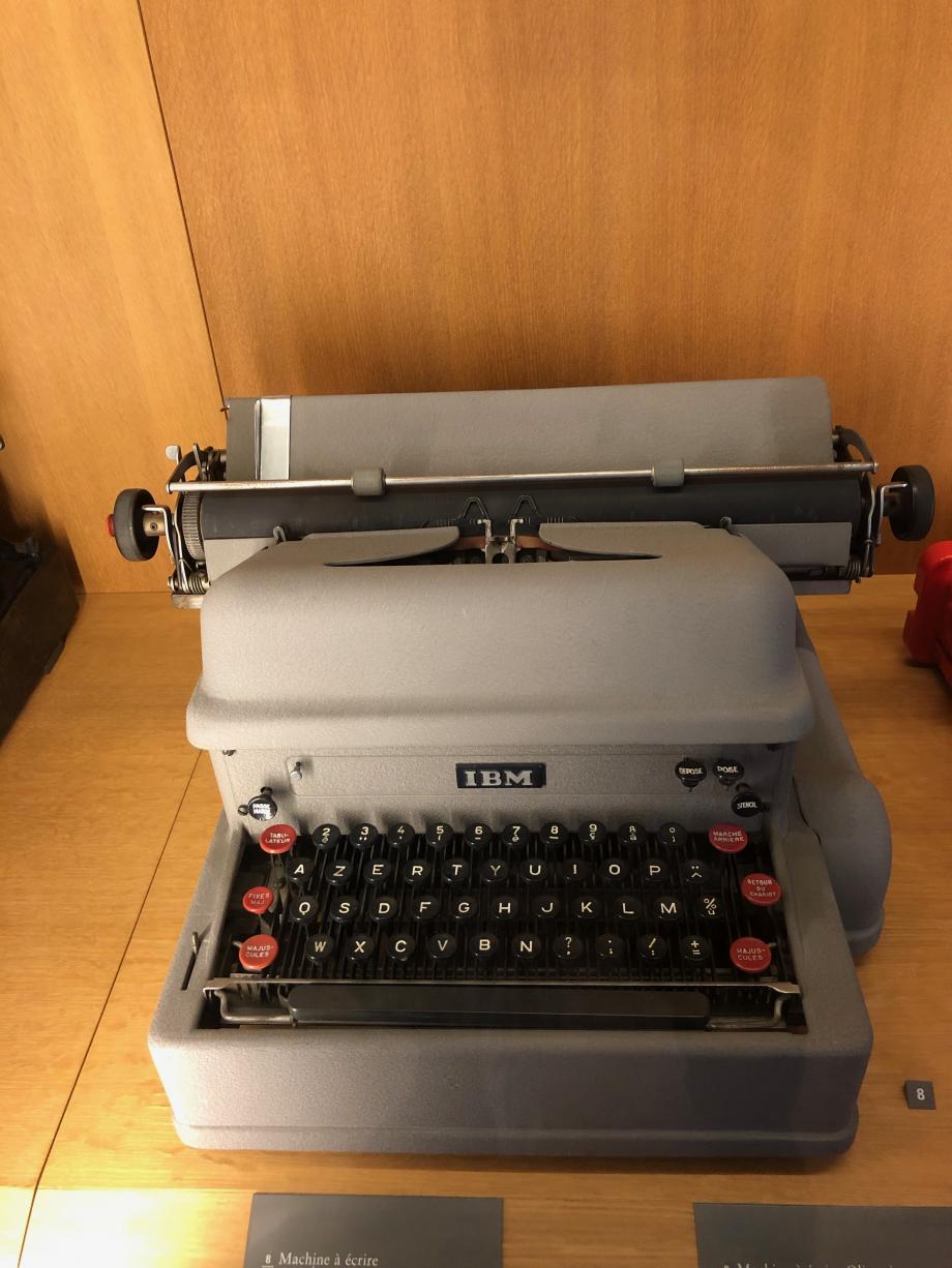 machine à écrire IBM Electronic  1960