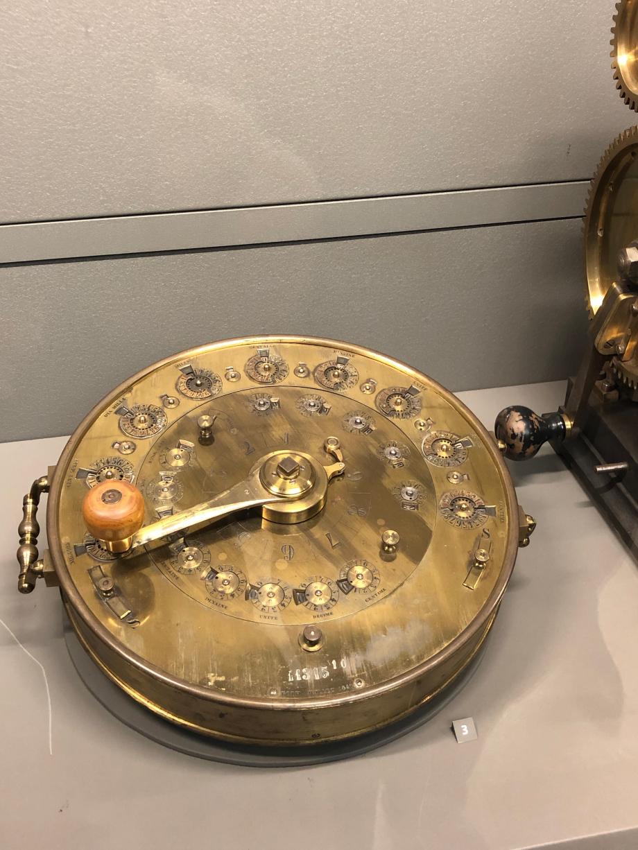 Machine multiplicatrice circulaire de Didier Roth 1841