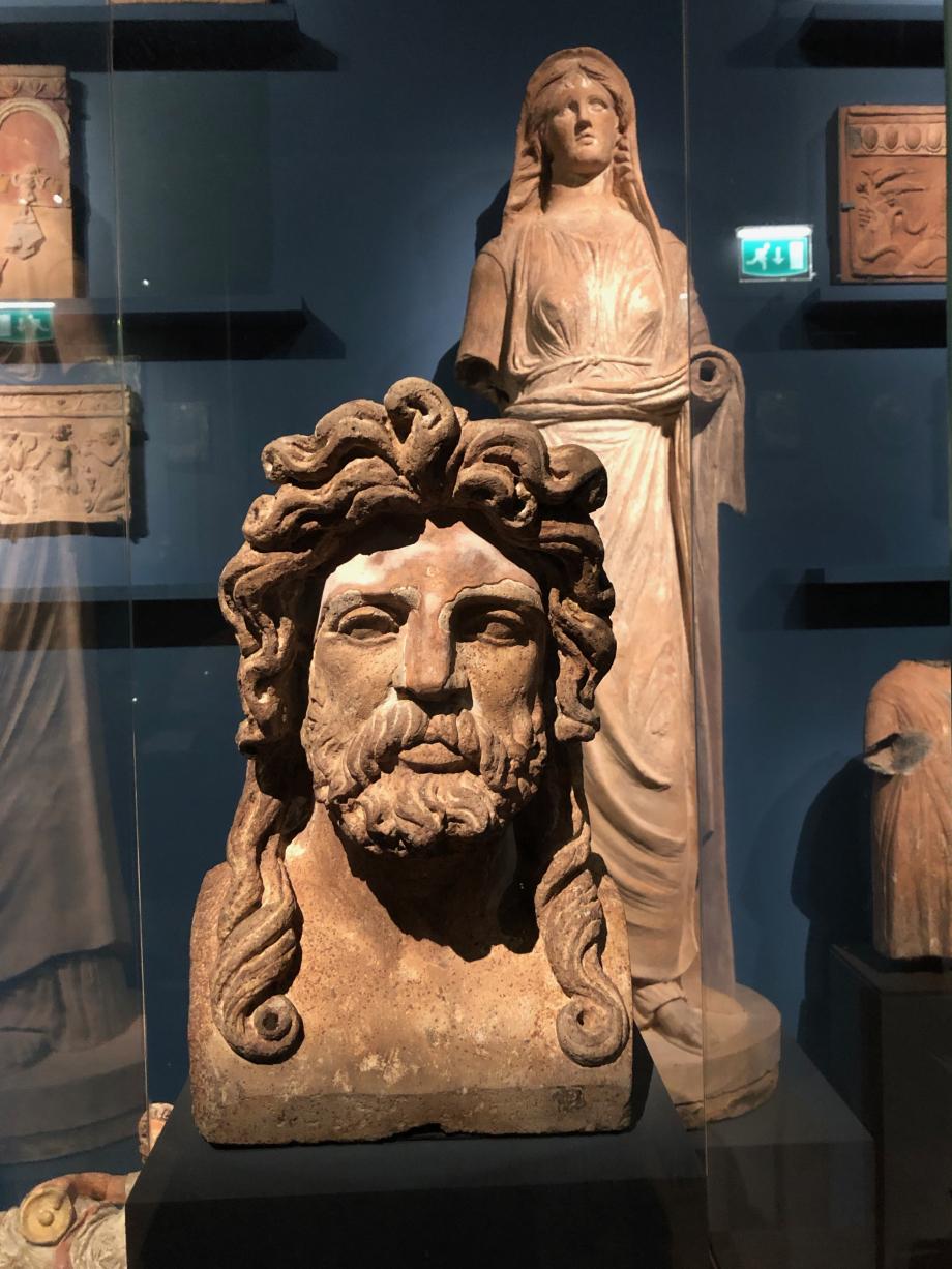 Buste d'homme barbu : Jupiter ?