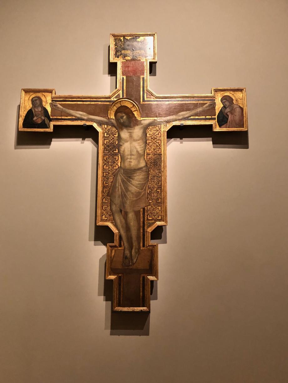 Croix peinte Giotto di Bondone  vers 1267