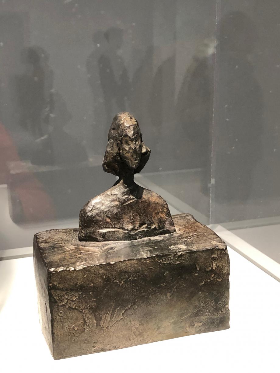 Petit buste d'Annette vers 1946