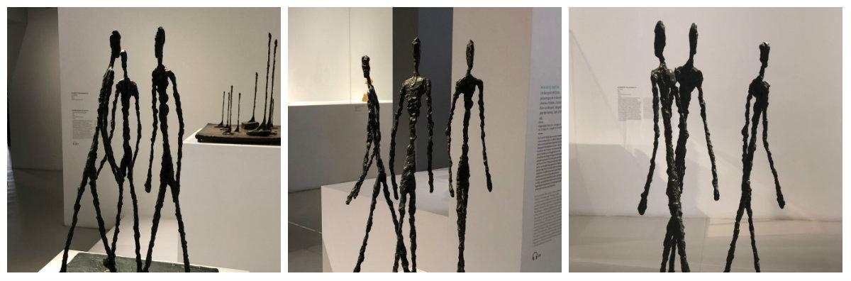 Trois hommes qui marchent 1948 C'est la même sculpture vue sous différents angles