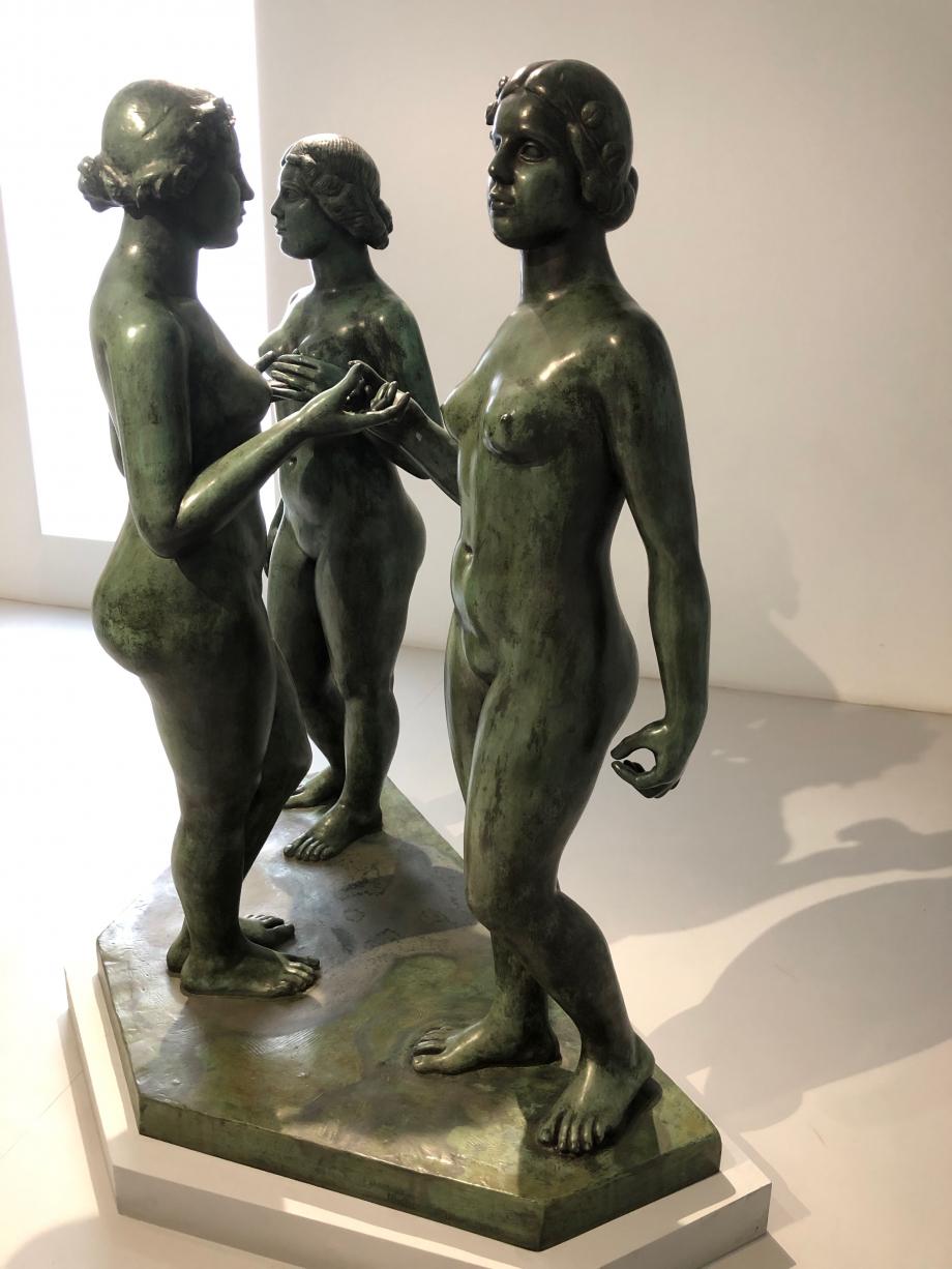 Aristide Maillol Les Trois Nymphes de la prairie 1930 1937