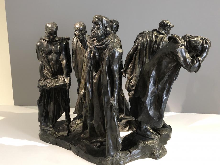 Auguste Rodin Les bourgeois de Calais 1885