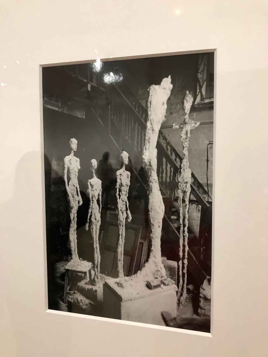 Atelier de Giacometti en 1958