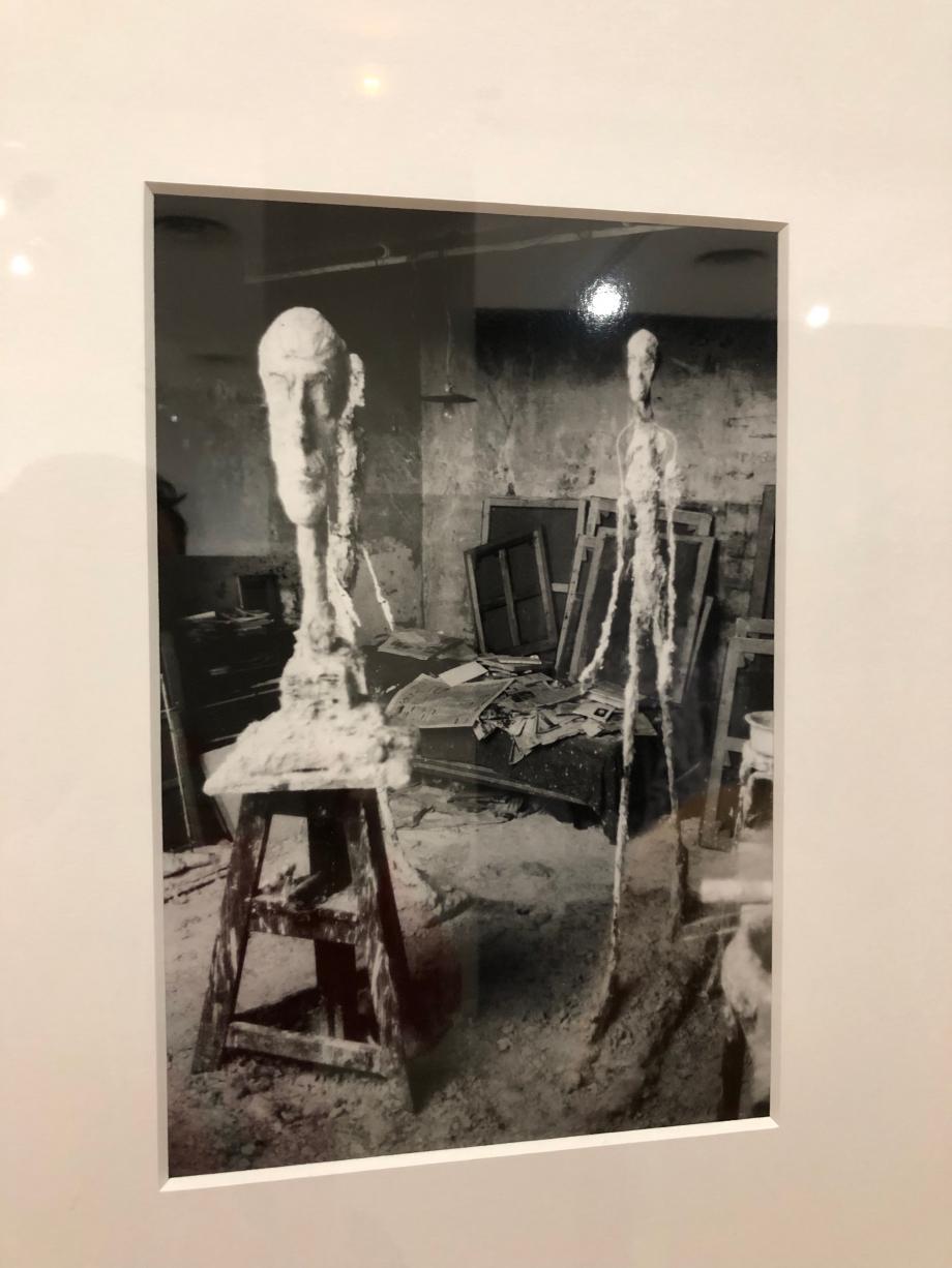 Atelier de Giacometti vers 1959 1960