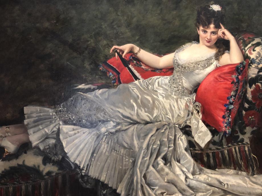 Charles Durand dit Carolus-Duran - Portrait de Mademoiselle de Lancey - Mai 1876