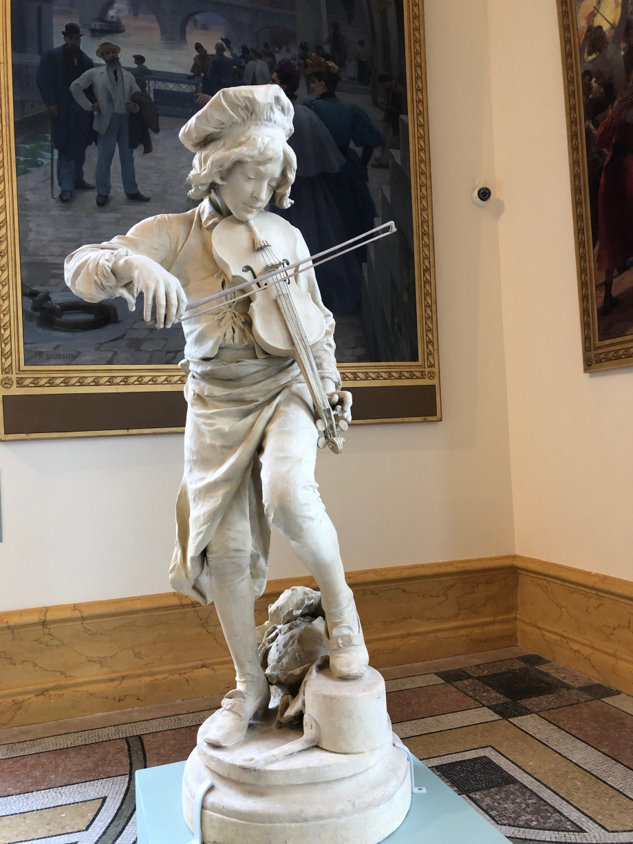 Adrien Gaudez - Lully enfant - 1885