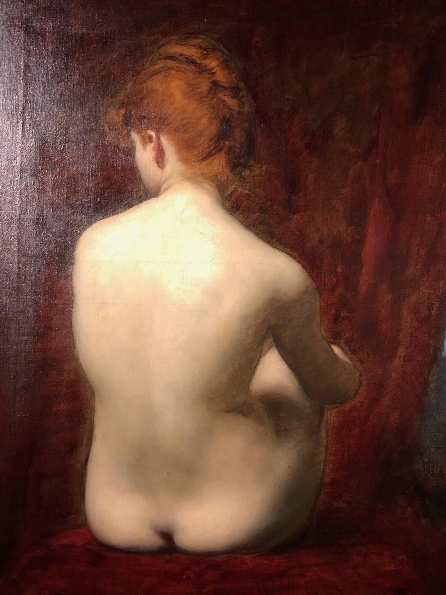 Charles Auguste Emile Durand dit Carolus-Duran - Lilia - 1889 - Musée d'Orsay Lilia est le nom du modèle qui a posé ou Lélia comme l'héroïne d'un roman de Geroge Sand  C'est un très beau nu