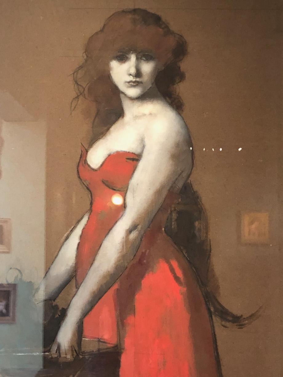 Henner - Hérodiade  - vers 1887